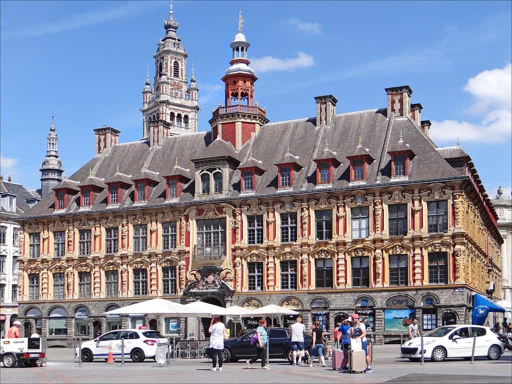 The Most Famous Landmark In Lille - La Vieille Bourse