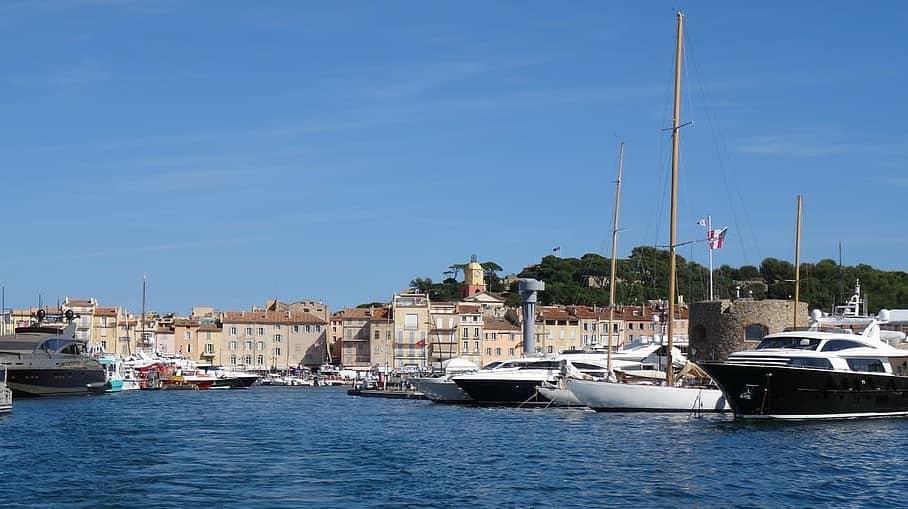 The Port of Saint Tropez