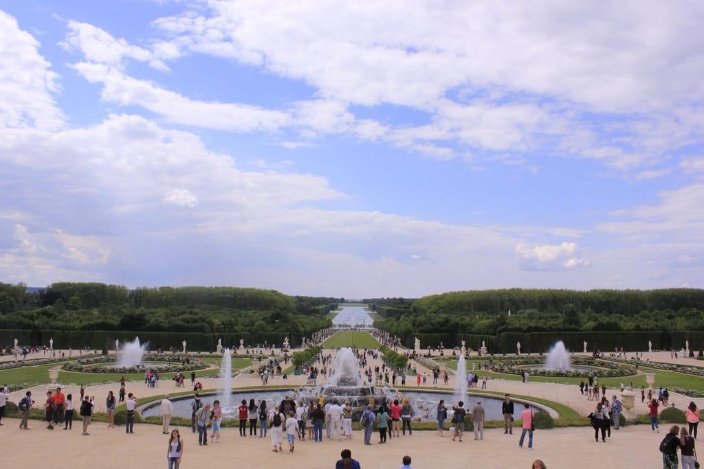 Paleis van Versailles, Frankrijk Fonteinfeiten