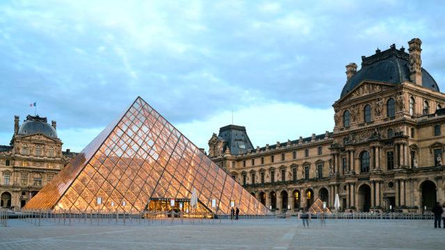 Visiting the Louvre Museum in Paris