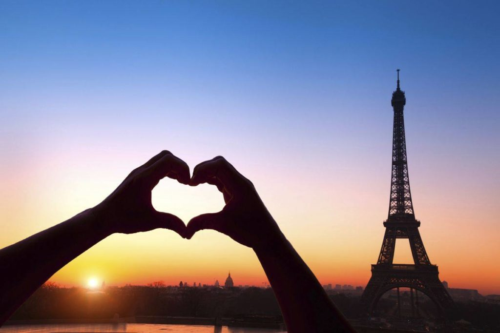 Why is Paris called the city of love