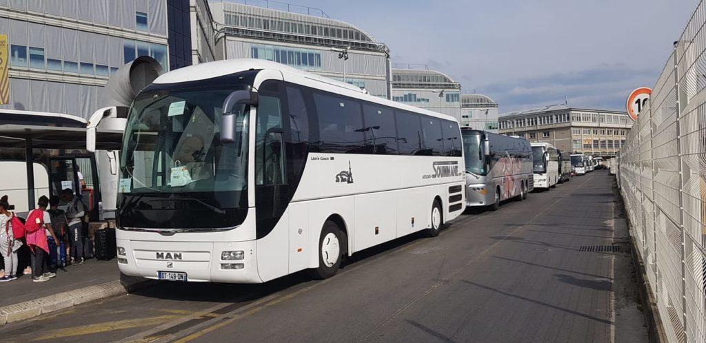 bus from lyon to milan