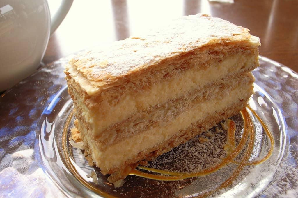 Best Desserts In Paris - Mille Feuille