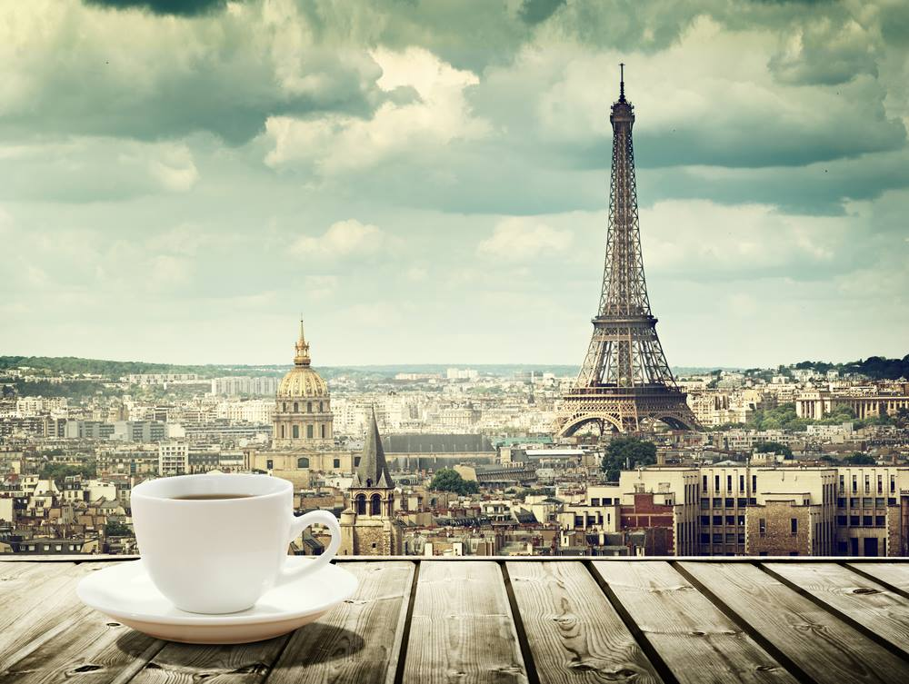 Cafes In Rome and Paris