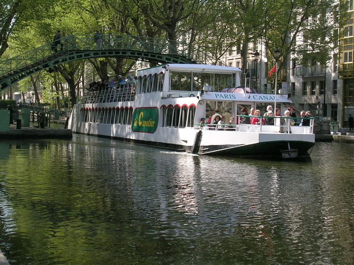 Canal St-Martin Boat Cruises