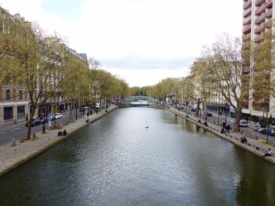 Canal St-Martin-bruggen