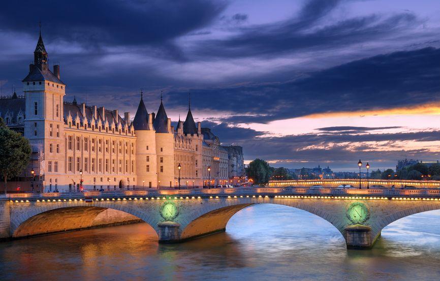 Conciergerie Monument In Paris, France