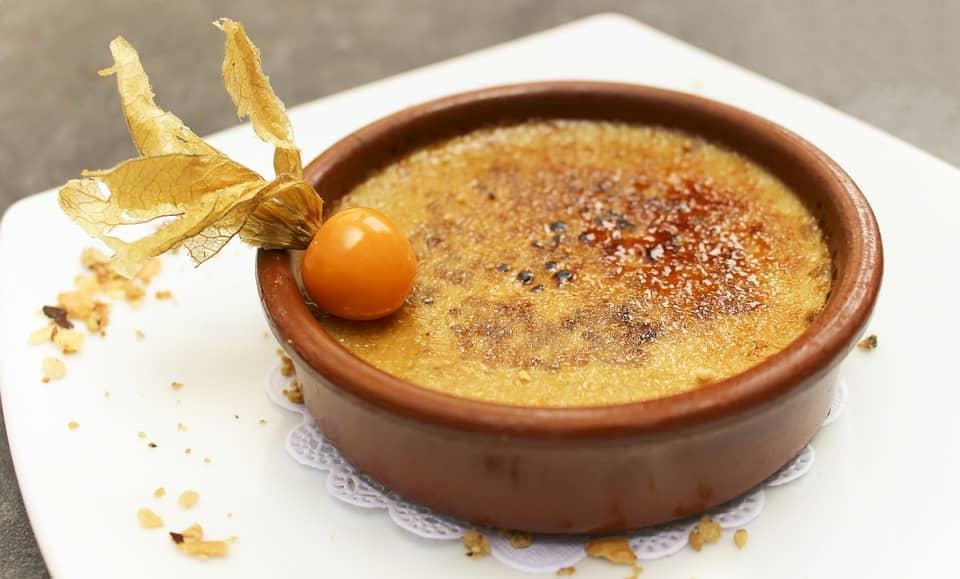 Best French Dessert - Crème Brûlée