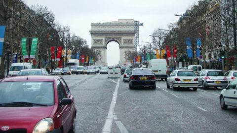 Driving Distances and Times from Paris