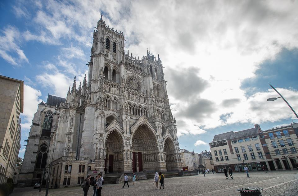 Famous Amiens Cathedral