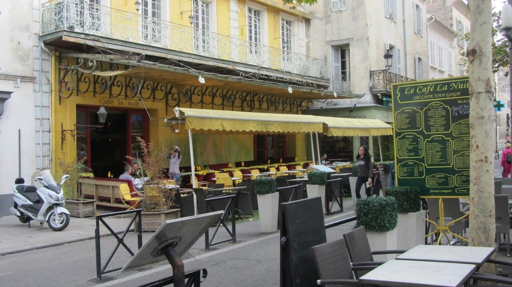 Is Arles Worth It - Arles Place du Forum Café