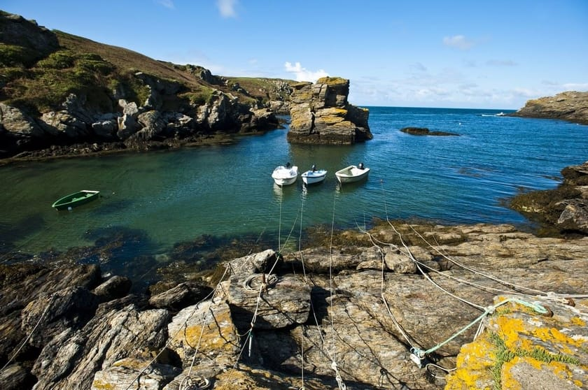Island of Groix in France