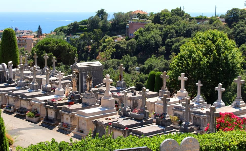 Le Grand Jas Cemetery in Cannes