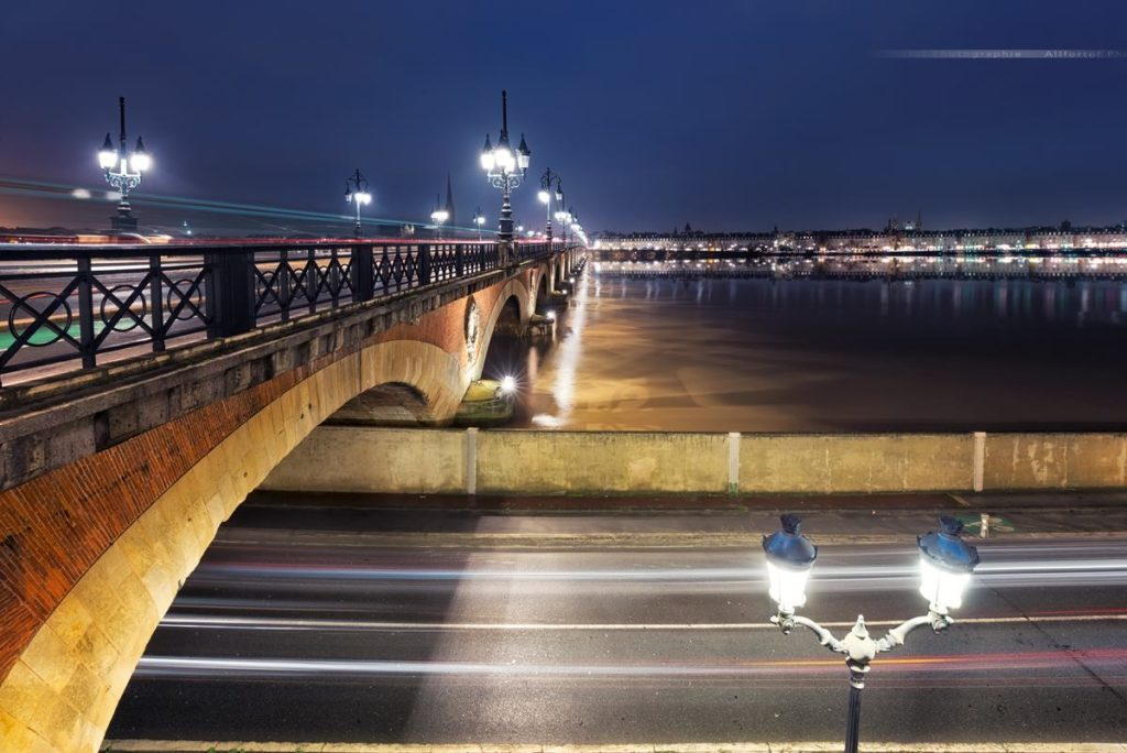 Le Pont de Pierre - Bordeaux, France