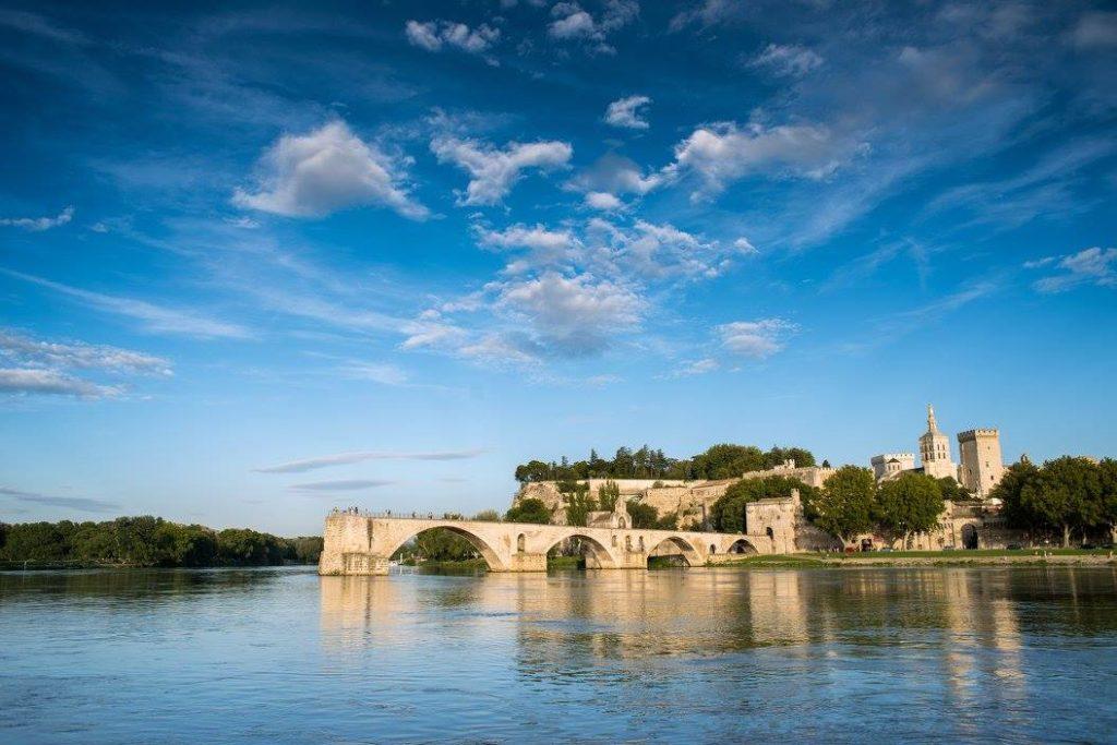 Monuments in Avignon - Bridge of Avignon