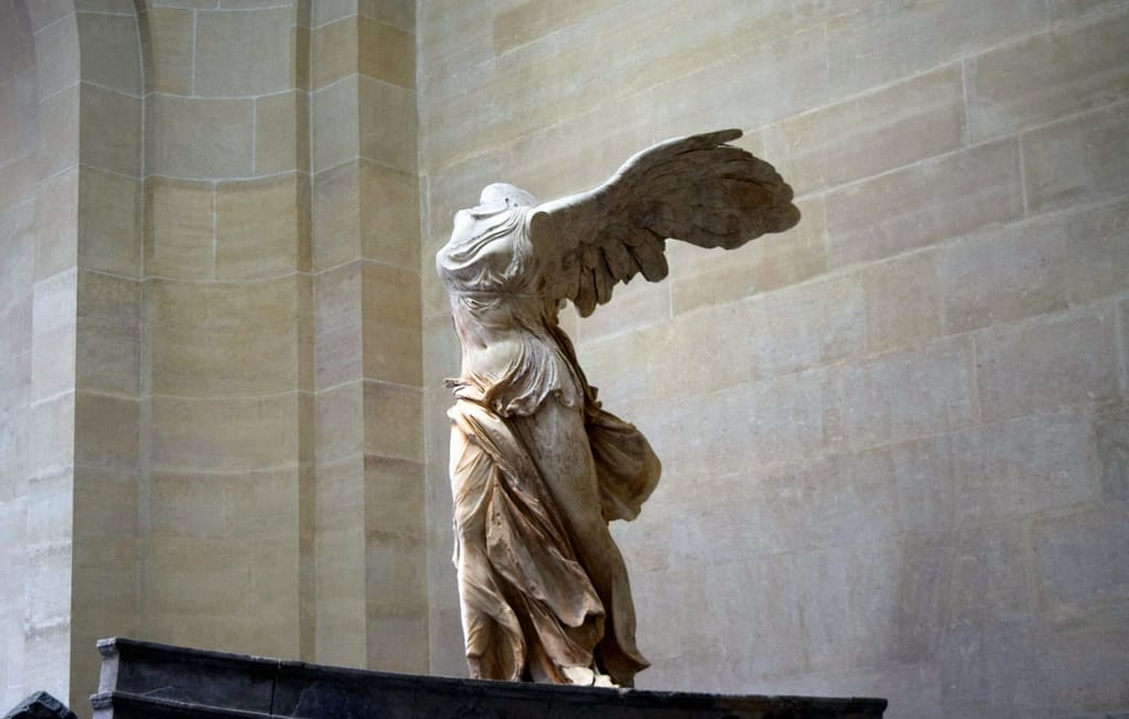 Most Famous Exhibits at The Louvre - The Winged Victory of Samothrace