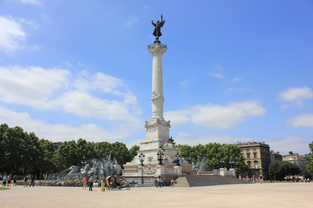 Most Famous Monuments in Bordeaux - Esplanade des Quinconces