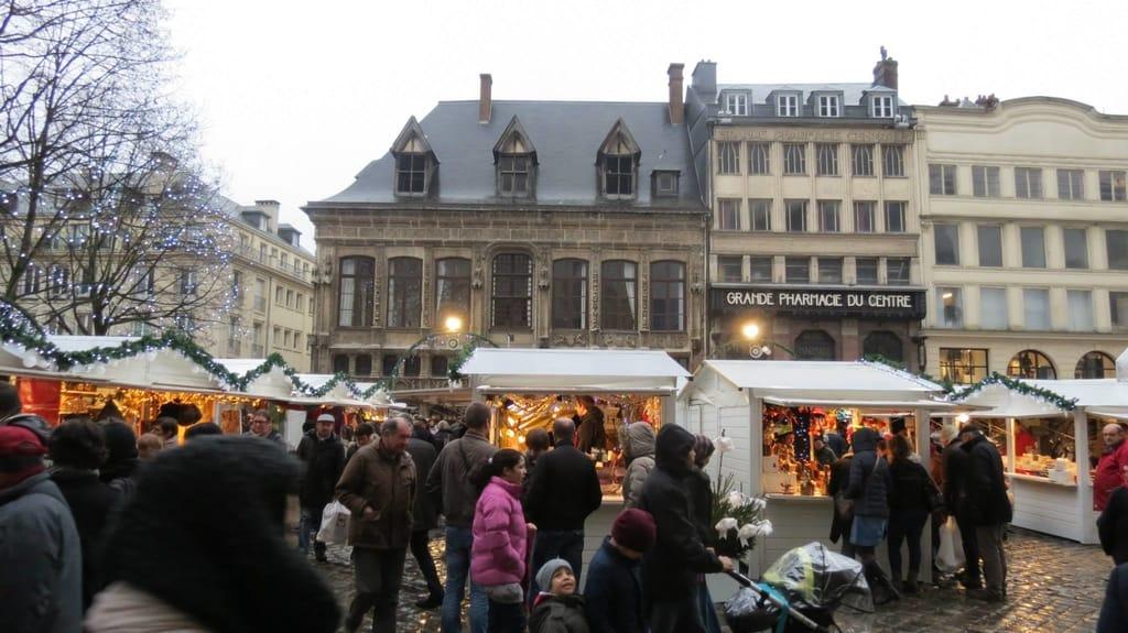 Rouen, Normandy Christmas Market