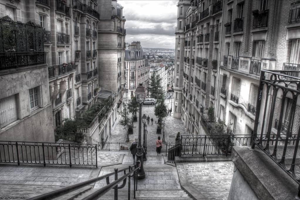 Zie Montmartre wanneer u Parijs bezoekt