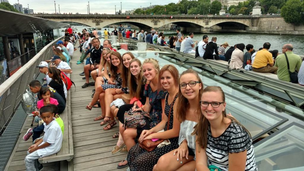 Seine River Cruise for Kids on a Budget