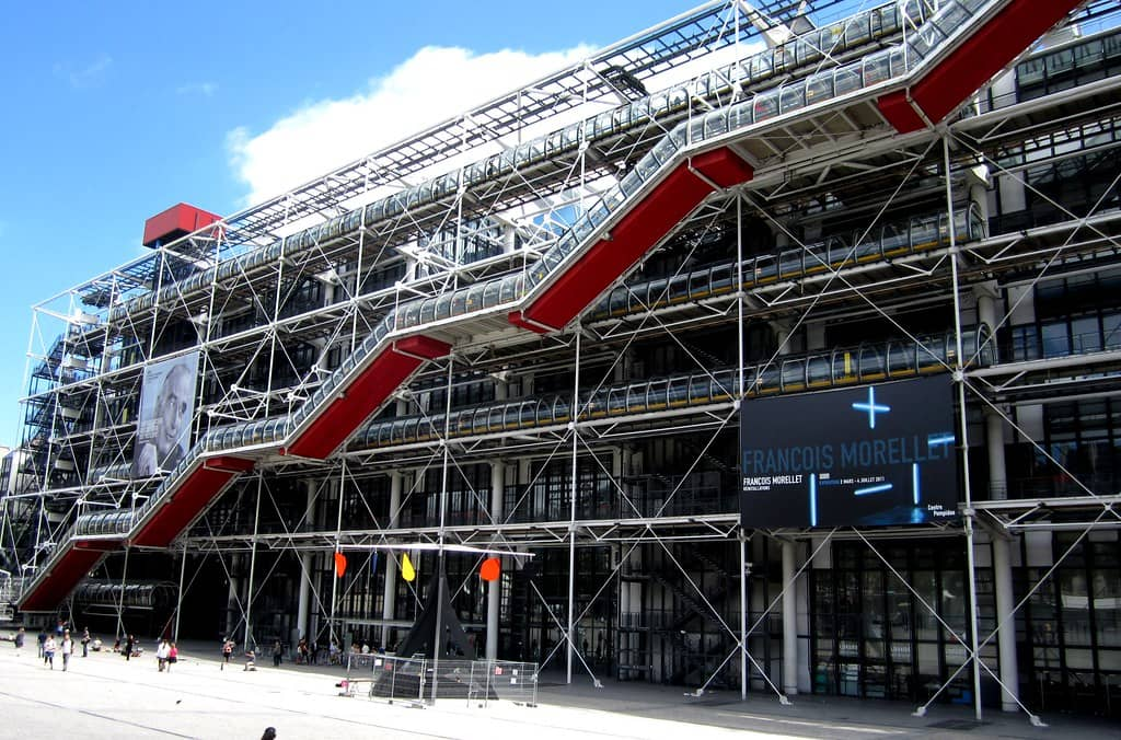 The Centre Pompidou - Best In Paris