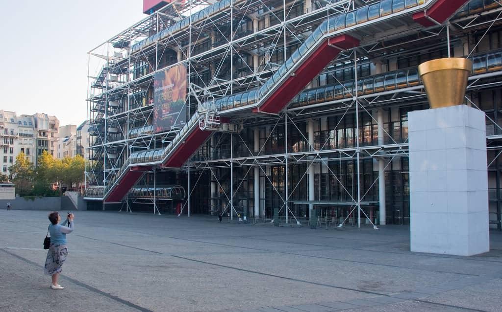 Het Centre Pompidou