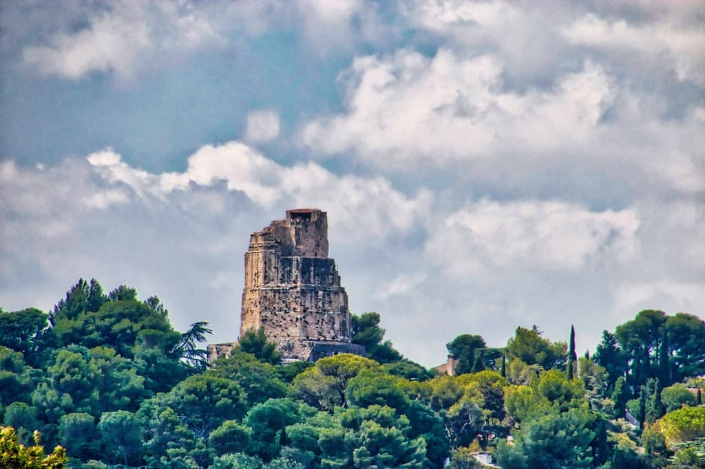 The Magne Tower on Mount Cavalier in Nimes