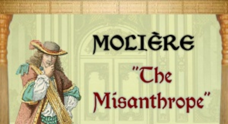 The Misanthrope Book by Moliere