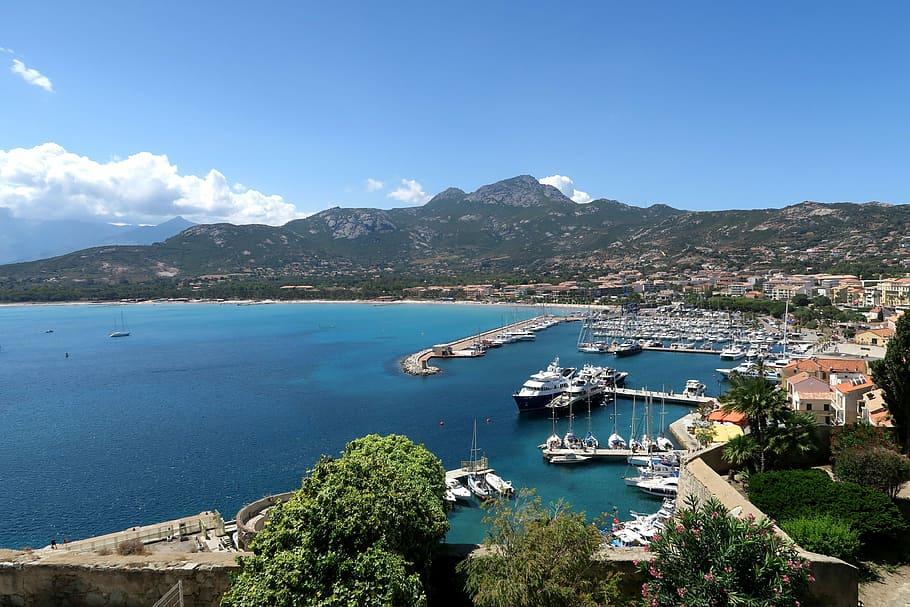 Bay of Calvi, Corsican, France