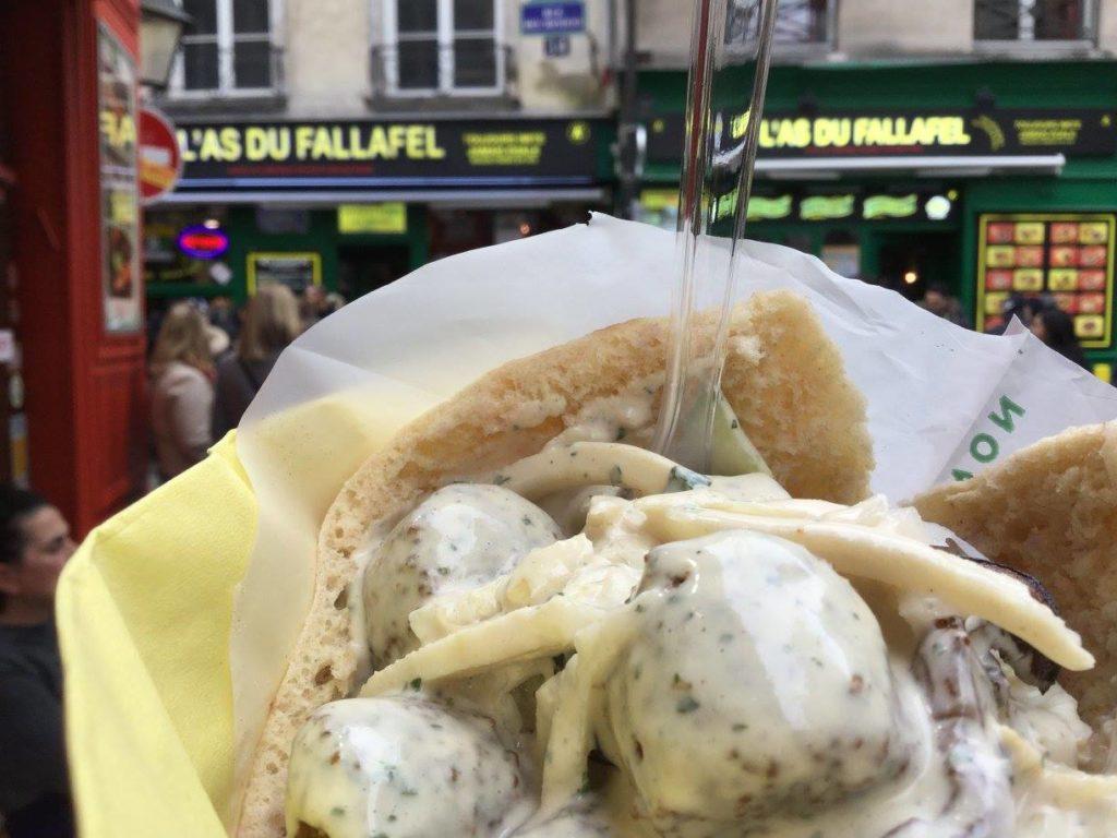 Best Vegan Restaurants in Paris - L'As du Fallafel