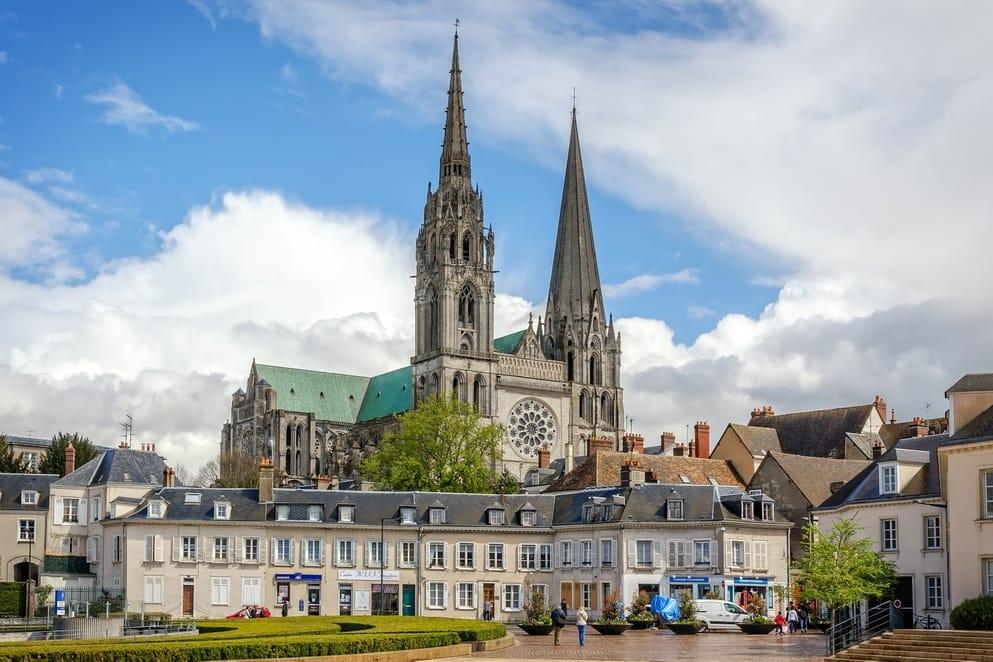 Cathédrale Notre - Dame de Chartres in Loire Valley