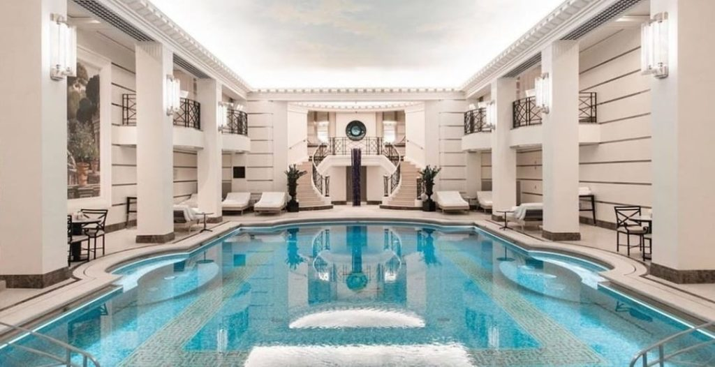 Chanel Spa at Ritz Hotel Paris