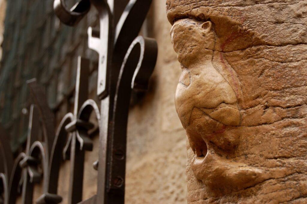 Dijon Owl Notre Dame de Dijon