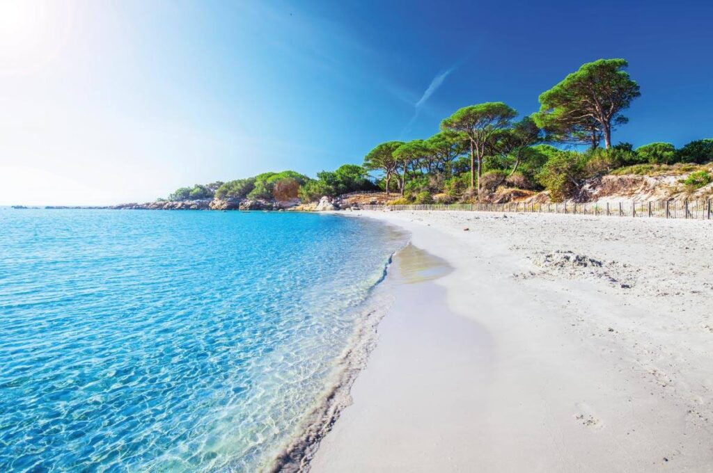 Famous Beaches in Corsica