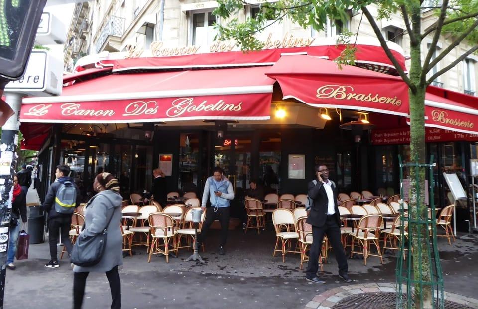 Le Canon des Gobelins - Most Beautiful Cafes in Paris