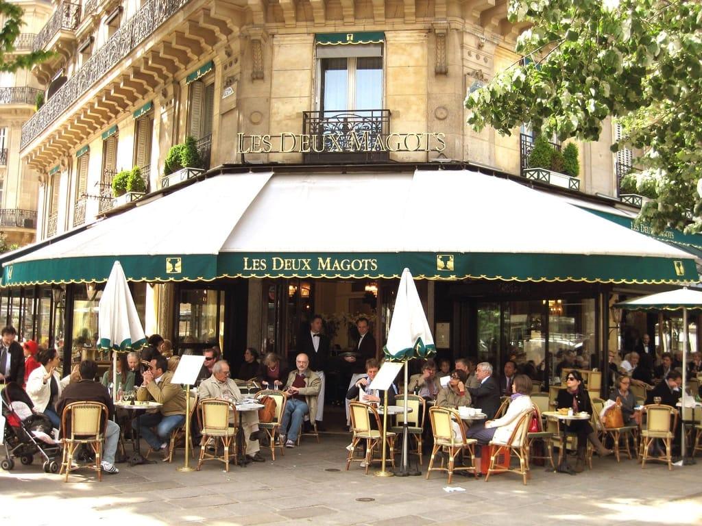 Les Deux Magots Amazing Cafe in Paris