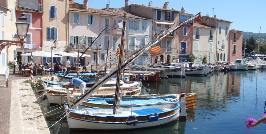 Martigues Coastal Village in France