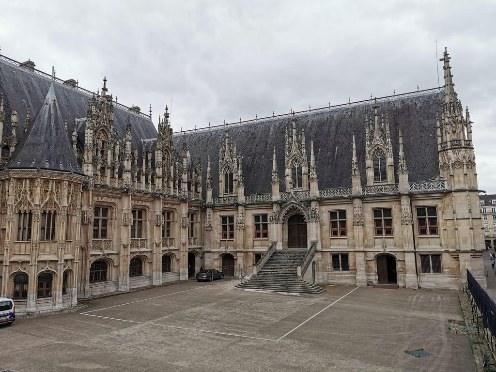 Palais de Justice - Famous Building in Rouen