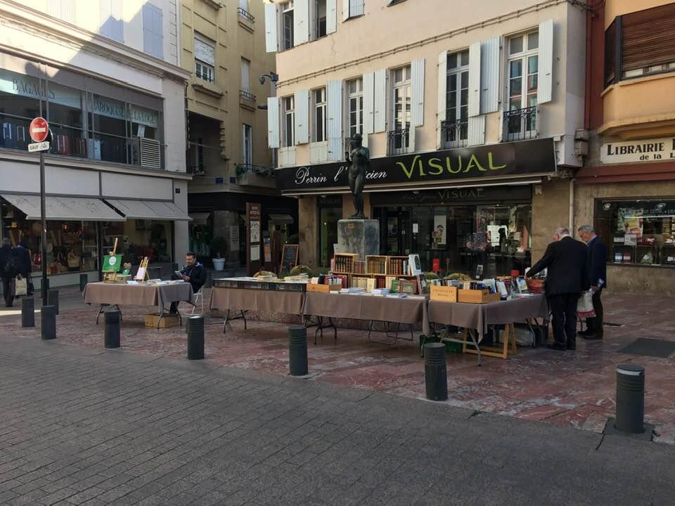 Place de la Loge Perpignan France