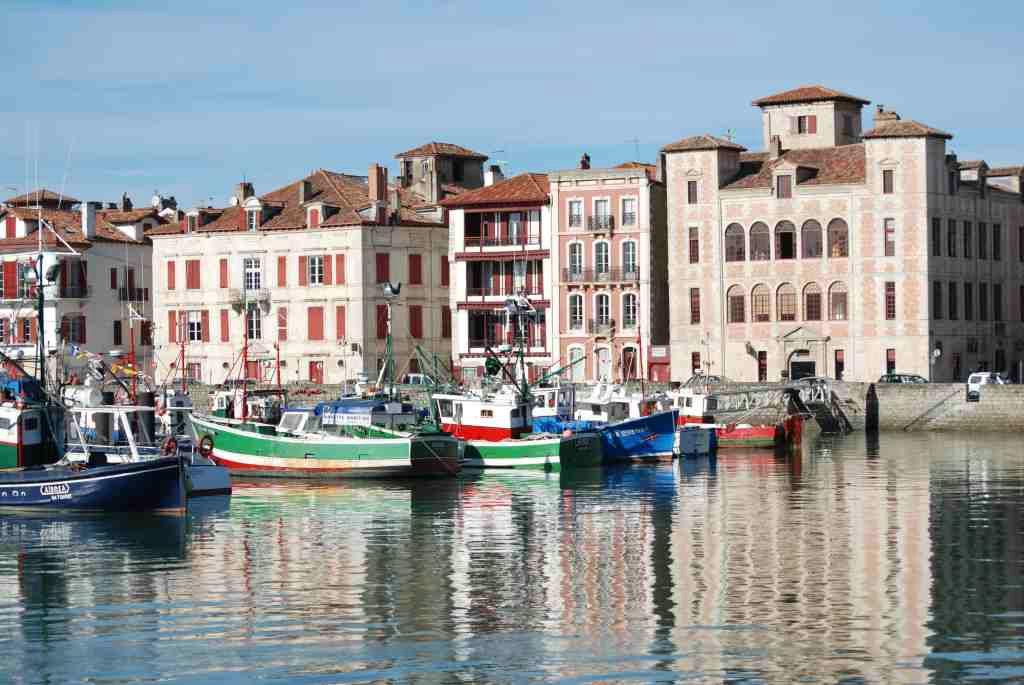 Saint Jean de Luz Village in the French Coast