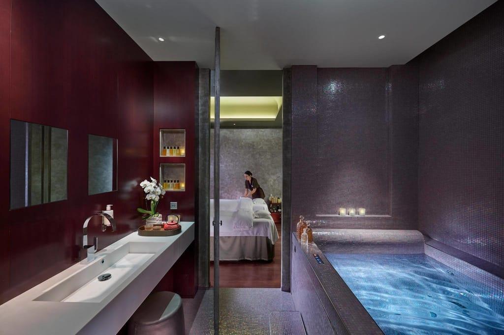Spa at The Mandarin Oriental Hotel in Paris