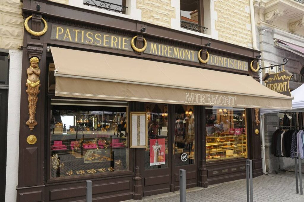 The Famous Miremont  in Biarritz