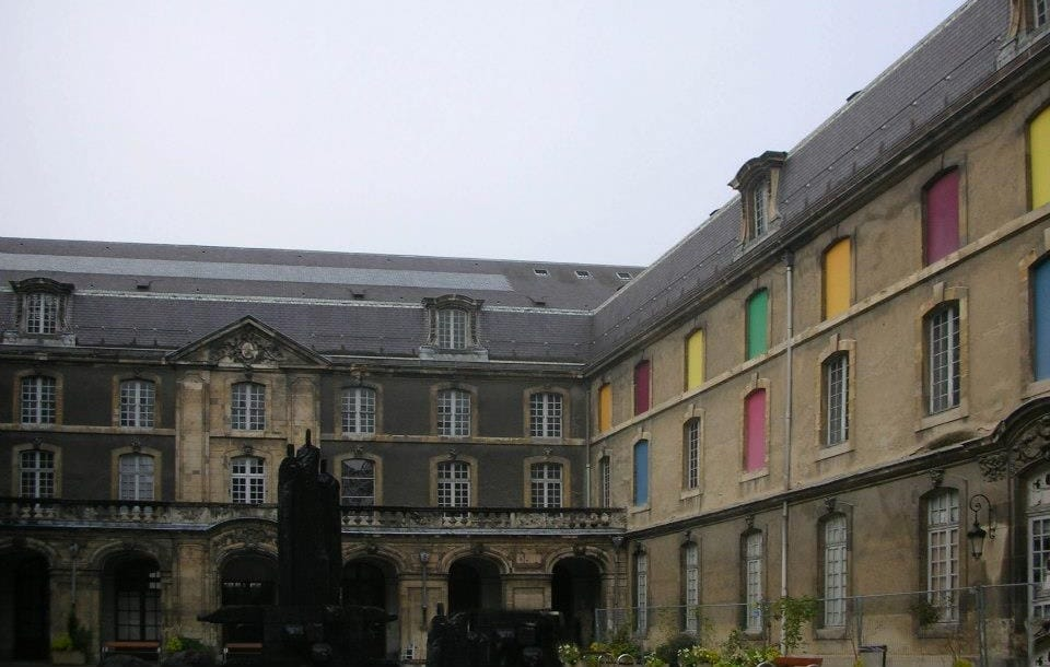 The Famous Musee des Beaux Arts in Reims