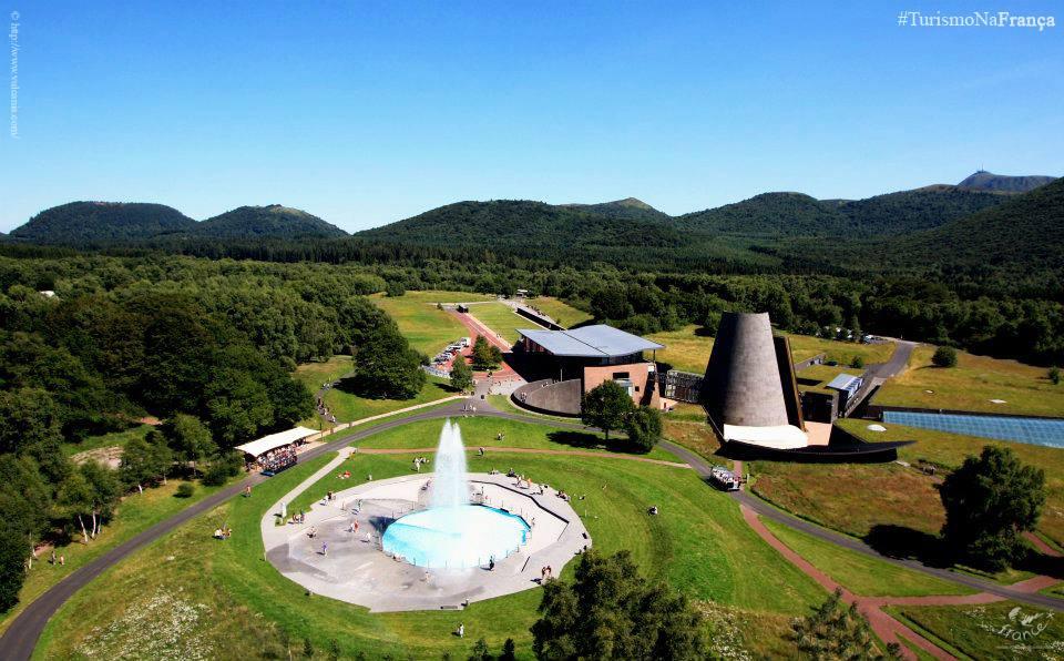 Vulcania Theme Park in France