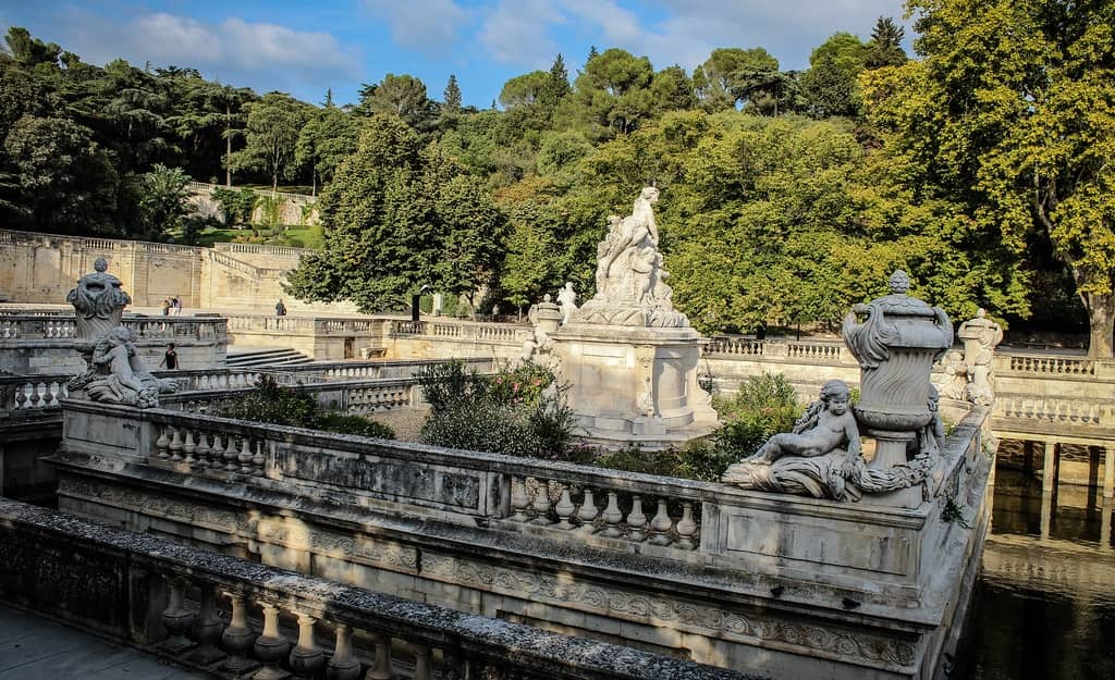 What is Nimes France Known For - Jardins de la Fontaine