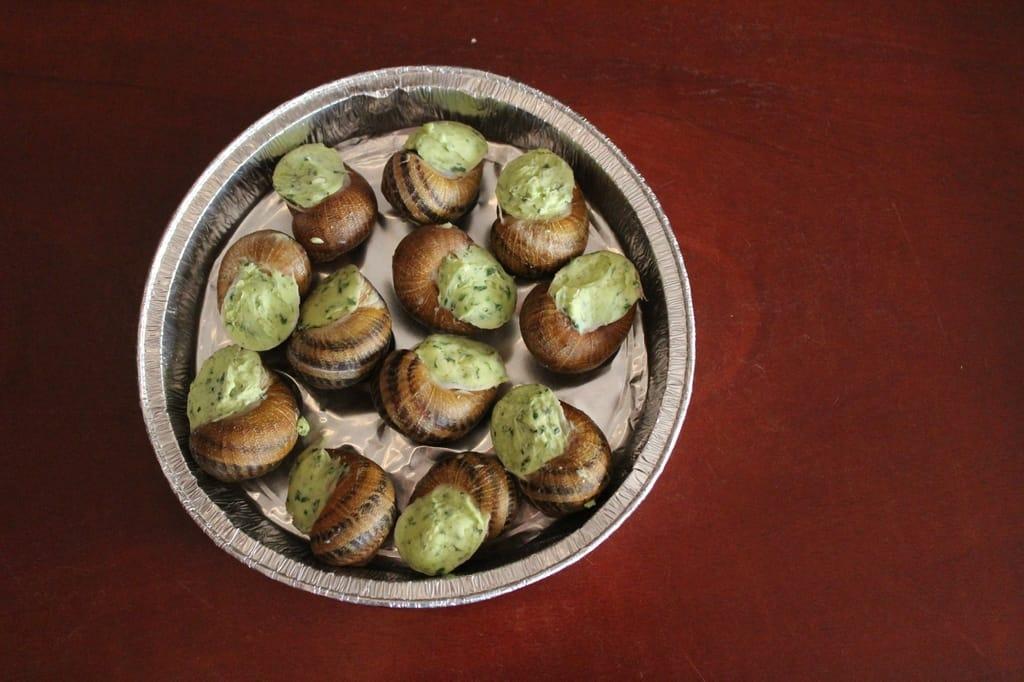 Escargots In A Food Festival In Normandy