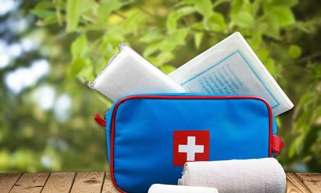 European Travel First Aid Medicine Kit