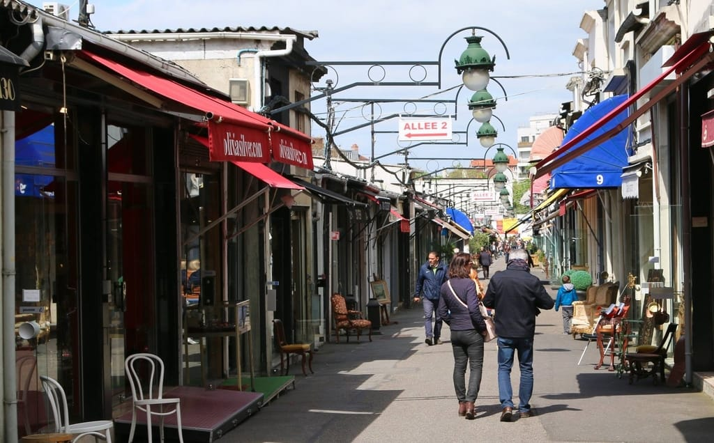 Flea Market in Saint-Ouen, Paris