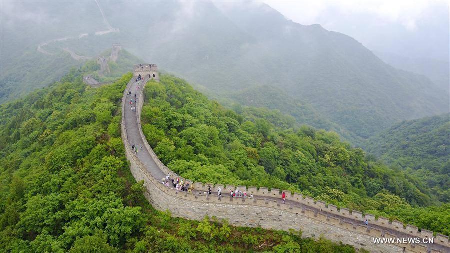 Great Wall at Mutianyu in China