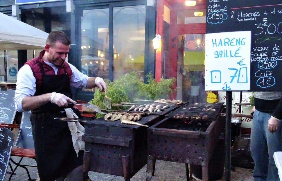 Herring and Scallop Festival, Dieppe